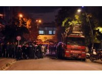 Lüleburgaz'da AVM yangını