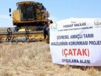 Çiftçiye 58 ilde ÇATAK desteği