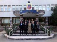Kilis Kent Konseyinden İl Jandarmaya ziyaret
