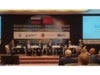 Moskova'da Türkiye-Rusya İş Forumu gerçekleştirildi