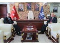 Vali'den Başkan Saraçoğlu'na iade-i ziyaret