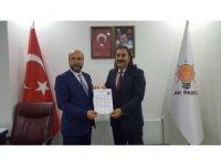 Cengiz Şahin, Tatvan Belediye Başkanlığı için aday adaylık başvurusunu yaptı