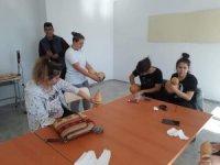 Öğretmen ve öğrenciler için 'Su kabağı işlemeciliği' kursu