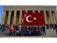Kadir Has Ortaokulu Öğrencilerinden Ankara Gezisi