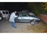 Çalınan otomobil, terk edilmiş olarak bulundu