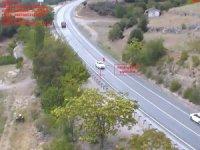 Isparta'da havadan trafik kontrolü