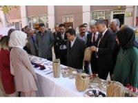 Hizan ADEM tarafından el sanatları sergisi düzenlendi