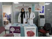 GAÜN Hastanesi'nden 'organ bağışı' standı