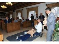 Nevşehir Belediyesi personeline temek ilk yardım eğitimi verildi