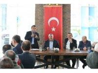 Başkan Toçoğlu, Minibüsciler Odası üyeleri ile bir araya geldi