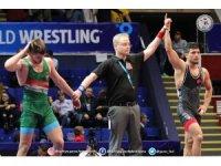 U23 Dünya Grekoromen Güreş Şampiyonası'nda iki yarı finalist