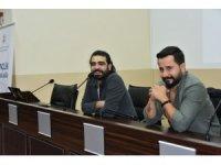 Karadenizli şarkıcı Selçuk Balcı, OMÜ'lü gençlerle söyleşti