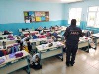 AFAD'dan öğretmen ve öğrencilere afet eğitimi