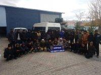 Van'da 34 yabancı uyruklu kaçak şahıs yakalandı