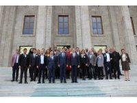 İş dünyası temsilcileri Aydın'ı ziyaret etti