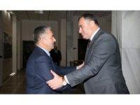 Başkan Taşdelen'den Çankaya'nın yeni kaymakamına ziyaret