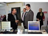 İl Sağlık Müdürü Bilge'den yeni açılan Ağız ve Diş Sağlığı polikliniklerine ziyaret
