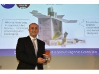 2,5 yapraklı organik yeşil çay dünya inovasyon birincisi oldu