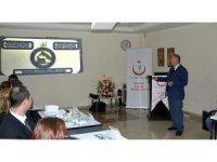 Sağlık Müdürlüğü tarafından 'Evde Sağlık Hizmetleri ve Palyatif Bakım Çalıştayı' yapıldı
