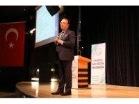 Okul müdürlerine 2023 Eğitim Vizyonu ve Eğitimde Dönüşüm konferansı verildi