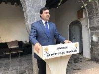 AK Parti Siverek İlçe Başkanı istifa etti