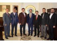 Bem-Bir-Sen Genel Başkan Yardımcısı Alper, Başkan Bakıcı'yı ziyaret etti