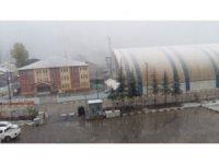 Beytüşşebap'ta ambulans kar nedeniyle mahsur kaldı