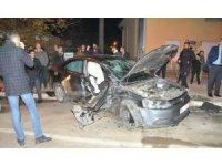 Bafra'da trafik kazası: 4 yaralı
