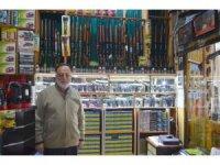 Edirne'de av malzemesi satan dükkanlar denetlendi