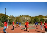 Mithat-Mehmet Çanakçı MYO'da voleybol turnuvası düzenlendi