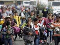 Göçmen konvoyu Amerika sınırı'nda
