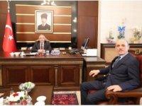 Başkan Öztürk'ten Vali Nayir'e hayırlı olsun ziyareti