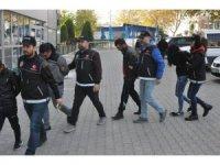 Denizli'de uyuşturucu operasyonu: 1'i kadın 4 kişi tutuklandı