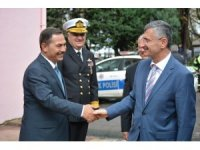 Vali Bektaş, Ereğli'de temaslarda bulundu