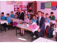 Kuyucak'ta en çok atık pil toplayan okul ve öğrenciler ödüllendirildi