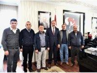Taksici esnafından Akgül'e ziyaret