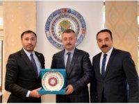 Türkiye Judo Federasyonu Başkanı Huysuz'dan Vali Büyükakın'a ziyaret