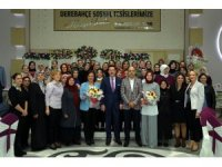 Başkan Tok, Gazi Devlet Hastanesi personelini ağırladı