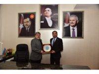 Judo Federasyonu Başkanı Huysuz'dan Belediye Başkanı Can'a ziyaret