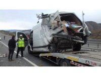 Tosya'da trafik kazasında 4 kişi yaralandı