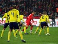 UEFA Uluslar Ligi: Türkiye: 0 - İsveç: 0 (Maç devam ediyor)