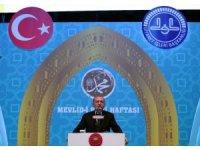 """Cumhurbaşkanı Erdoğan: """"Diyanet İşleri Başkanlığımızı siyasi tartışmaların malzeme yapma girişimlerini tasvip etmiyorum"""""""