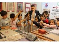 SİMURG'lu çocuklar kağıdın tarihsel gelişimine tanıklık ettiler