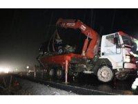 Kazada ölen 5 yaşındaki kız toprağa verildi