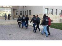 Sivas'ta uyuşturucu operasyonu: 7 tutuklama
