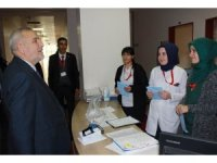 Müftü Çetin'den hasta ziyareti