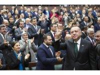 """Cumhurbaşkanı Erdoğan: """"""""Artık her adımını devlet ve millet düşmanlarıyla birlikte atanlar ne kadar uğraşırlarsa uğraşsınlar siyasette yeniden hortlayamayacaklardır"""""""