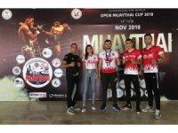 Düzceli MuayThai sporcuları madalya ile döndüler