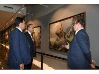 Ankara Milletvekili Hacı Turan Fetih Müzesi'nde