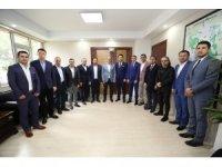 Başkan Gürlesin ASKON yönetimini ağırladı